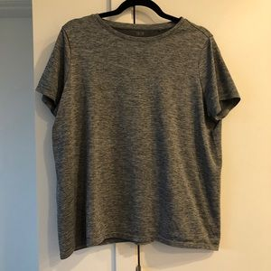 Uniqlo Athletic Boxy Fit Tee - Grey